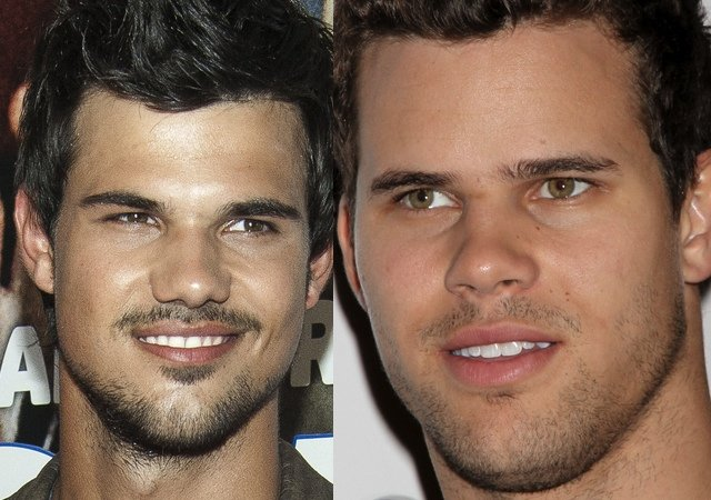 Taylor Lautner i Kris Humphries