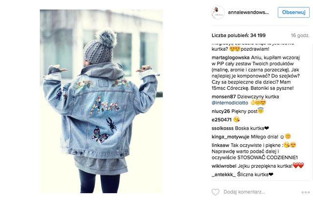 Nie uwierzysz, ile Anna Lewandowska zapłaciła za TĘkurtkę!