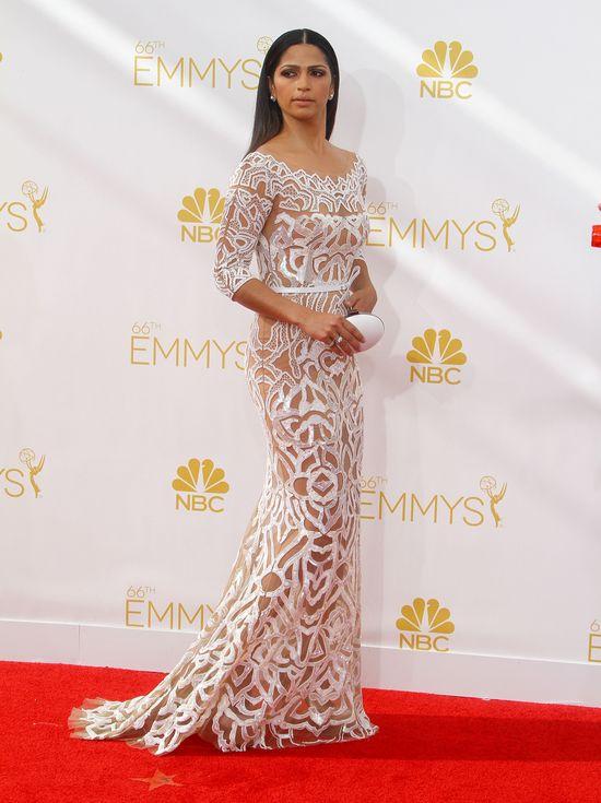 Camila Alves w sukni Zuhaira Murada na rozdaniu nagród Emmy 2014