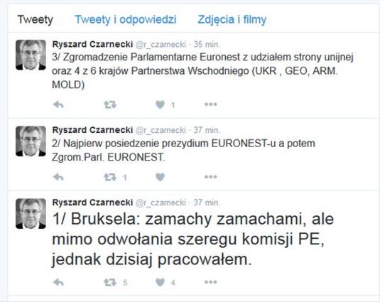 Ryszard Czarnecki to polski europose�. Jeden z wiceprzewodnicz�cych Parlamentu Europejskiego.