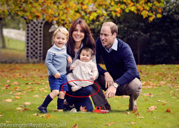 Zdjęcie książęcej rodziny nie tak idealne, jak myśleliśmy