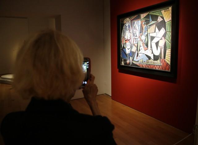 """""""Kobiety z Algieru"""" autorstwa Pablo Picasso zosta�y najdro�ej sprzedanym obrazem �wiata."""