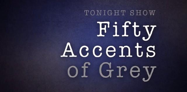 Jamie Dornan wykonuje 50… akcentów Greya (FOTO)