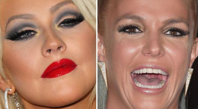 Gwiazdy, które noszą za dużo makijażu!