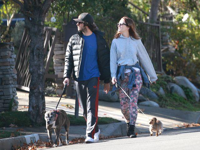 Pieskie �ycie Leighton Meester i Adama Brody'ego (FOTO)