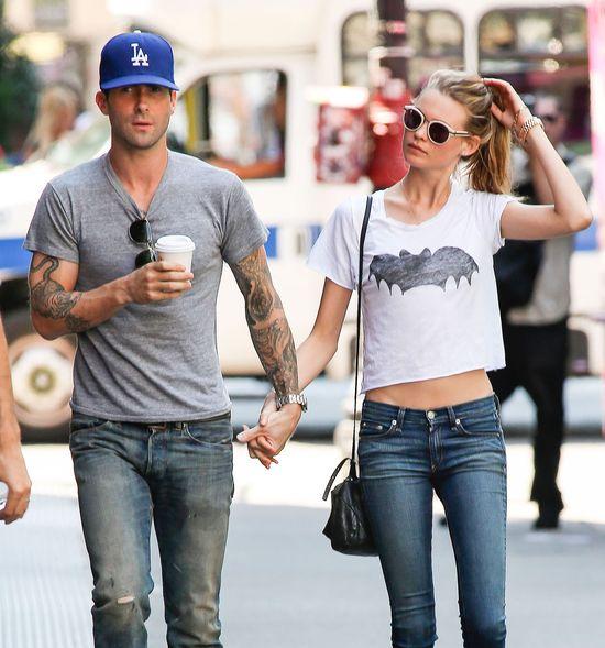 Zakochany Nowy Jork - Adam Levine i Behatii Prinsloo (FOTO)