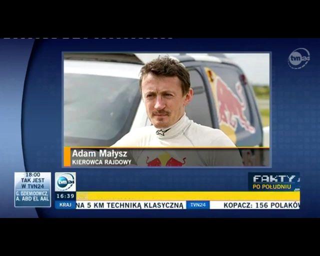 Adam Małysz ma pretensje do organizatorów rajdu Dakar