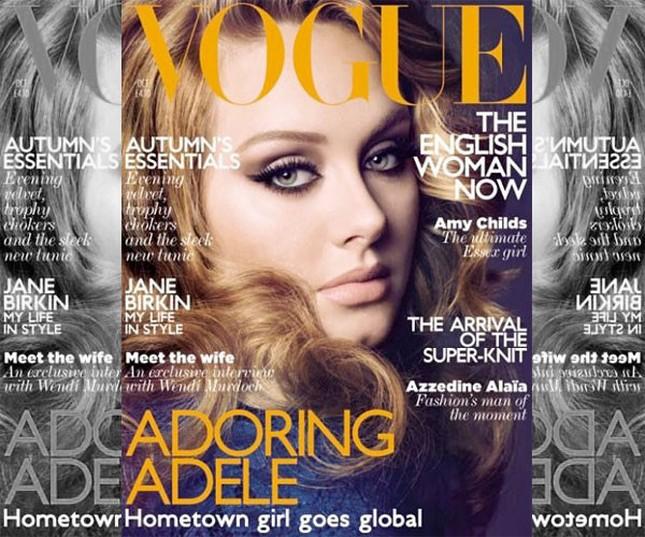 Adele na okładce amerykańskiego Vogue