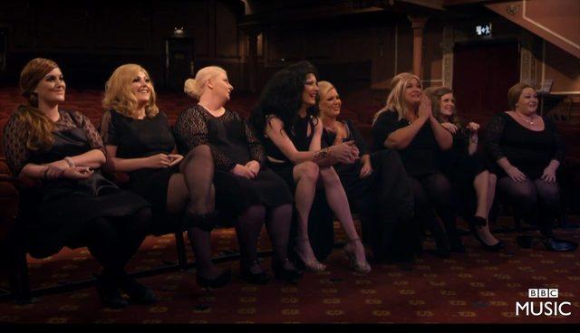 Adele jako Jenn na konkursie... sobowtórek Adele [VIDEO]