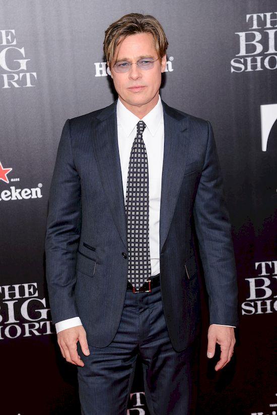 Zaskakuj�ca decyzja FBI w sprawie Brada Pitta