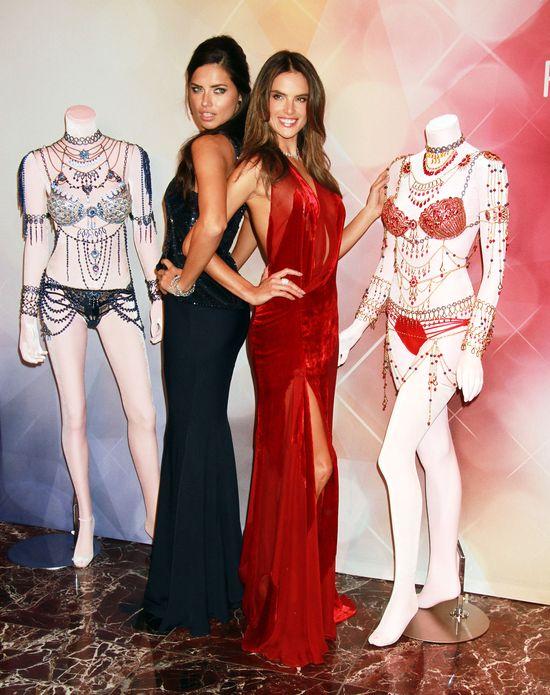 Adriana Lima i Alessandra Ambrosio pokazują swoją bieliznę