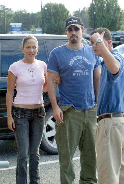 Ben Affleck przyja�ni si� z by�ymi partnerkami