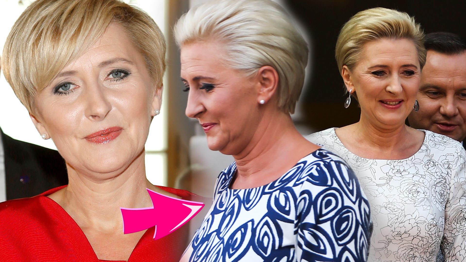 Agata Duda zmieniła fryzurę i wygląda pełniej na twarzy (ZDJĘCIA)