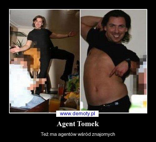 Internauci robią sobie jaja z agenta Tomka