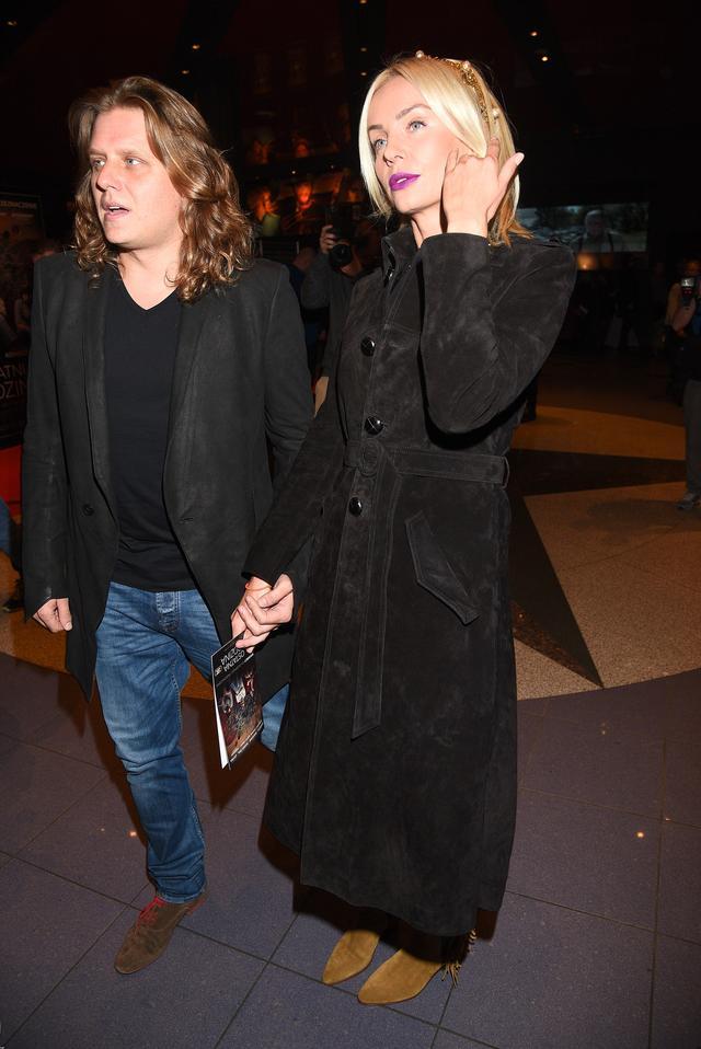 Agnieszka Woźniak-Starak z mężem na premierze (FOTO)