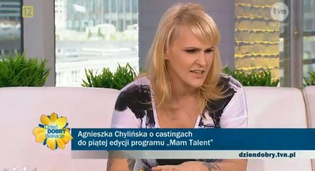 Agnieszka Chylińska jest w ciąży