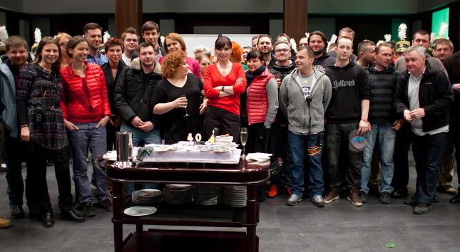 Dygant świętowała czterdziestkę na planie serialu (FOTO)