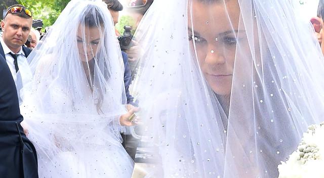 Ślub Agnieszki Radwańskiej i Dawida Celta - zobaczcie zdjęcia panny młodej!
