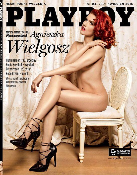 Agnieszka Wielgosz w Playboyu (FOTO)