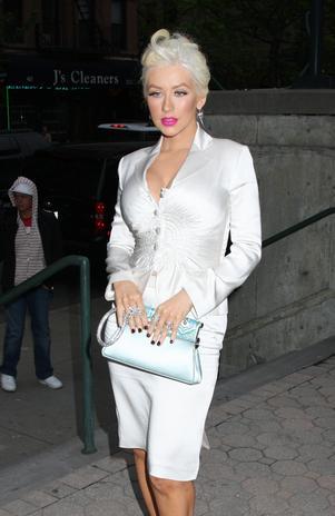 Christina Aguilera dopasowuje do siebie syna