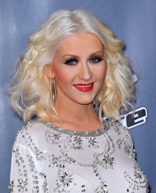 Super szczupła Christina Aguilera! (FOTO)