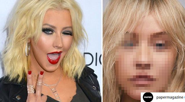 OMG. Christina Aguilera BEZ MAKIJAŻU wygląda JAK INNA OSOBA (ZDJĘCIA)