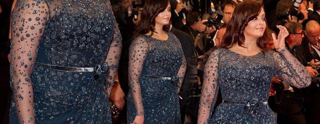 Aishwarya Rai w Cannes pokazała ciało po ciąży (FOTO)