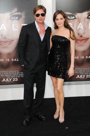 Brad Pitt przyłapany z sobowtórem Jennifer Aniston