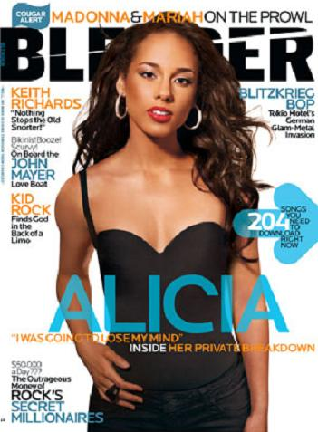 Alicia Keys dla Blender