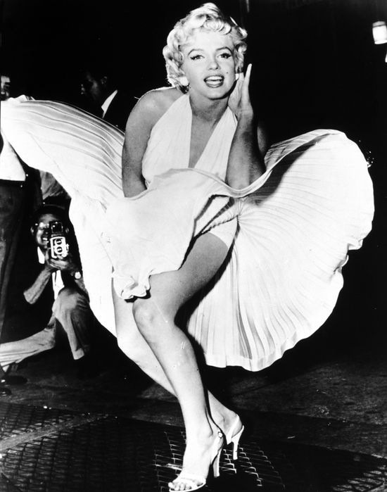 Ups! Ola Ciupa mia�a sw�j moment Marilyn! (FOTO)