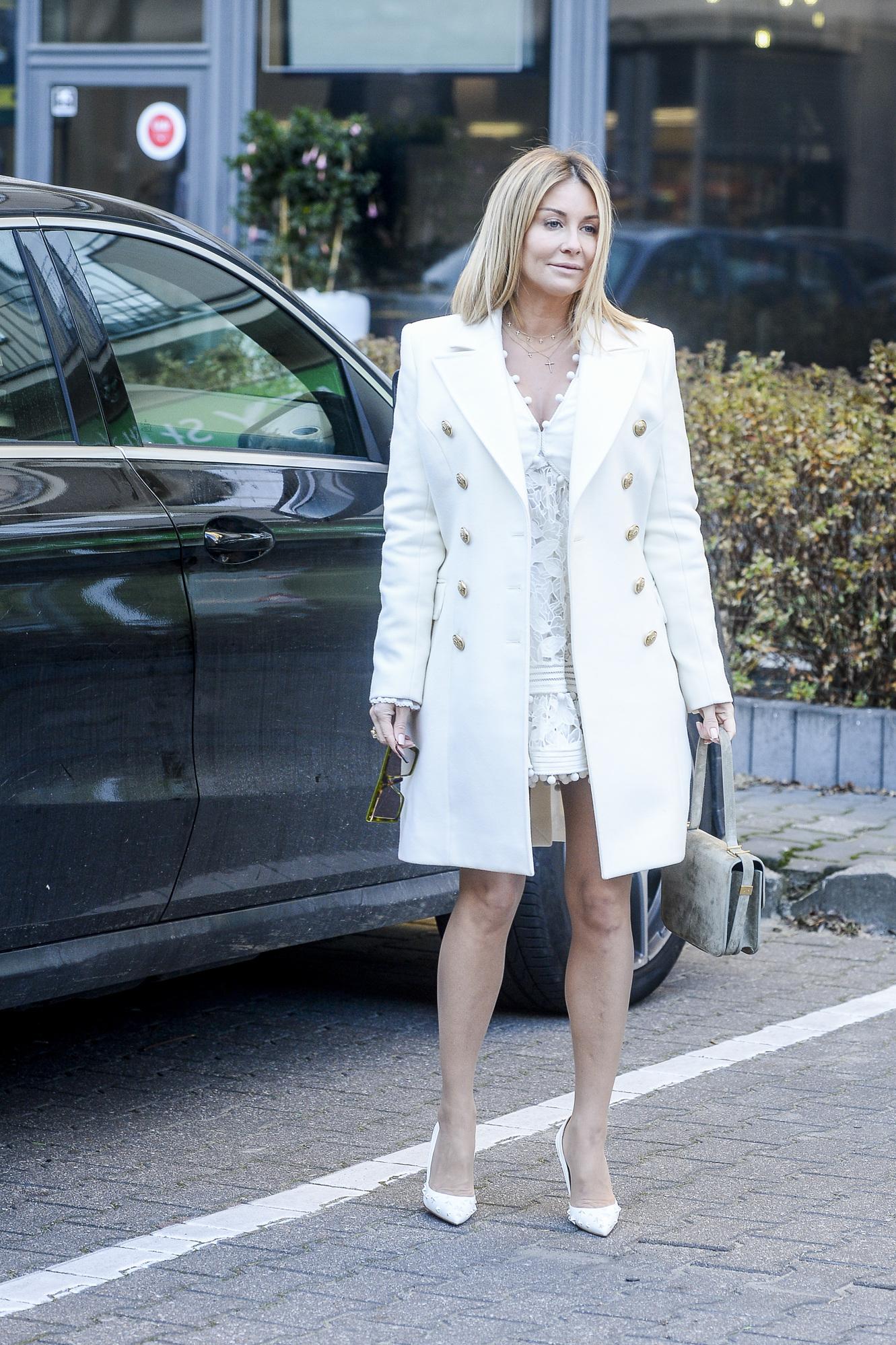 Małgorzata Rozenek w BARDZO krótkiej sukience odsłoniła DŁUGIE nogi (ZDJĘCIA)