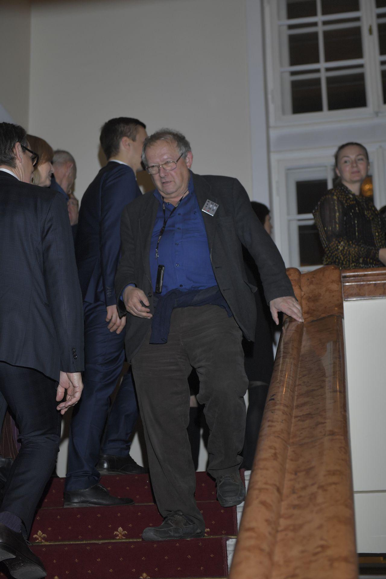 Wojewódzki, Tusk i Żebrowscy na 50-leciu pracy Andrzeja Seweryna (ZDJĘCIA)