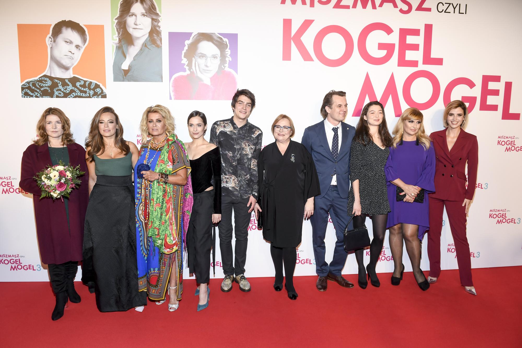 Premiera filmu: Miszmasz, czyli kogel-mogel 3. Anna Mucha zaszalała z kreacją
