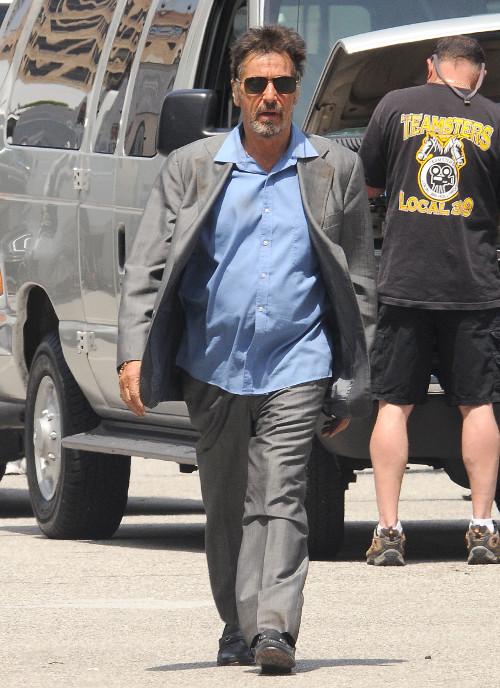 Al Pacino spotyka si� z o wiele m�odsz� blondynk�