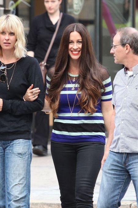 Alanis Morissette nie musi być chuda, by być szczęśliwa FOTO