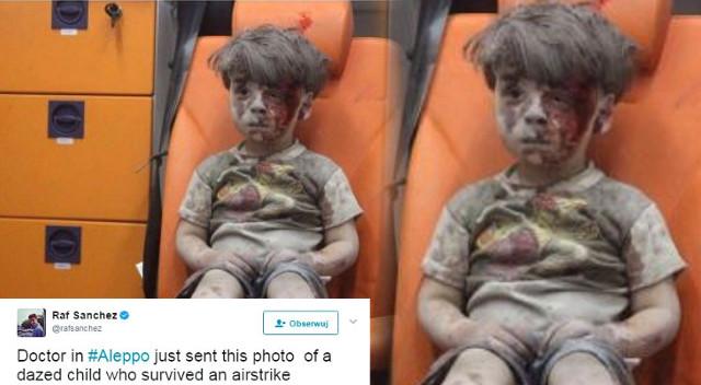 Pamiętacie przerażonego chłopca z Aleppo? Są jego nowe zdjęcia