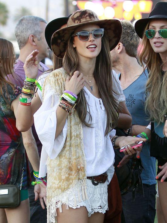 Gwiazdy na festiwalu Coachella