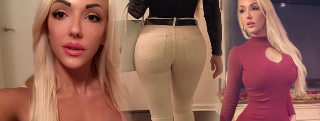 Alexandra Harra ma pupę większą niż Kim Kardashian! FOTO