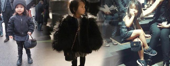 Alia Wang – mała gwiazda New York Fashion Week (FOTO)