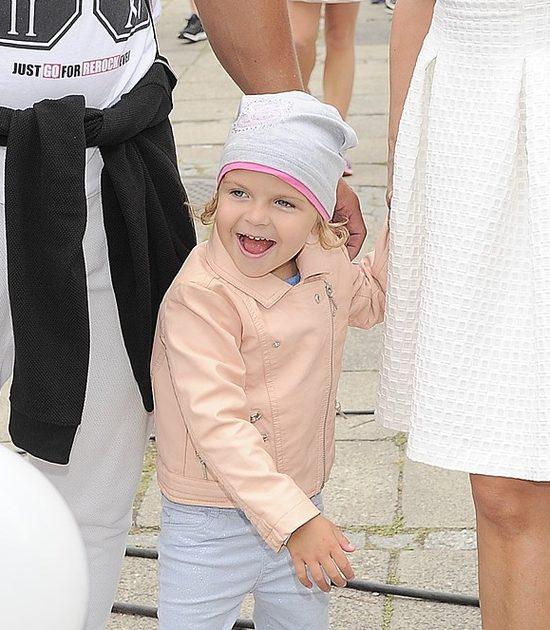 Alikia, córka Kasi Skrzyneckiej, niedługo skończy 4 lata