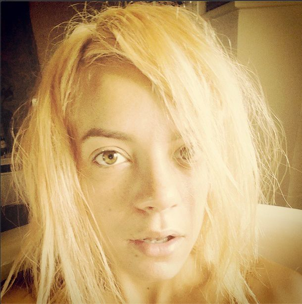 Lily Allen została blondynką (FOTO)