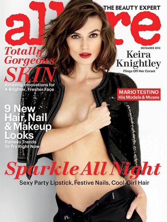 Keira Knightley: Mam tak małe piersi, że nie gorszą