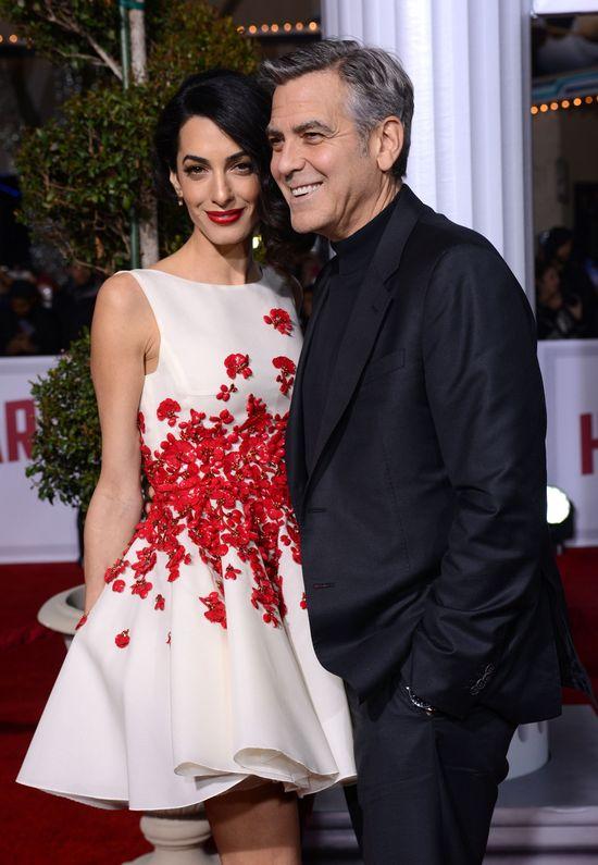 Problemy w związku? Clooney'owie wysyłają jasny przekaz