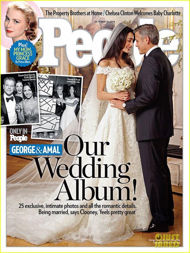Amal Alamuddin i Clooney wybrali miejsce na miesiąc miodowy