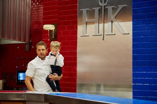 Modest Amaro zabrał synka do Hell's Kitchen (FOTO)