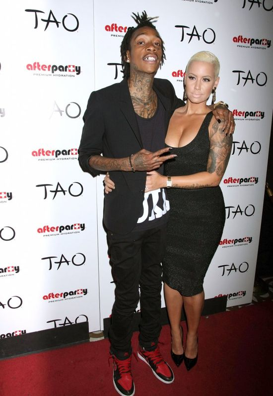 Amber Rose i Wiz Khalifa wr�cili do siebie?