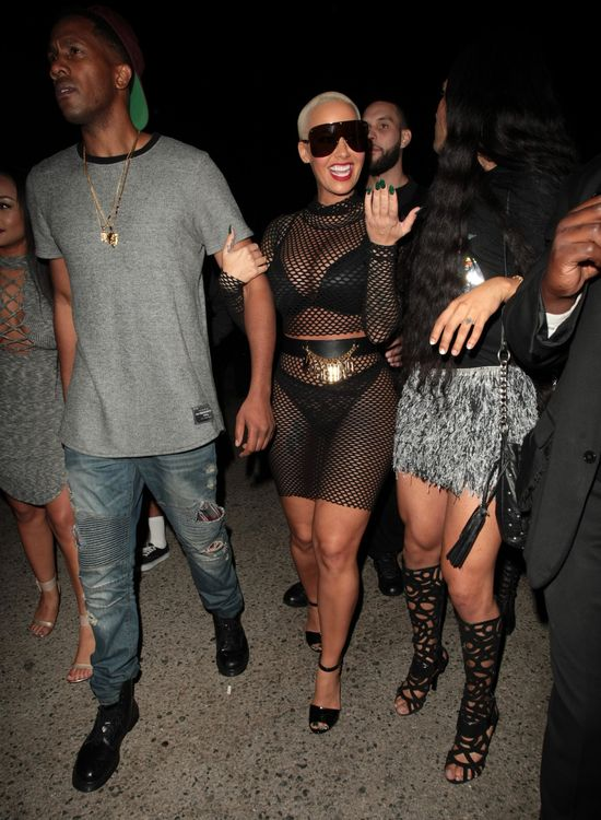 Kanye West wci�� uwa�a Amber za dwulicow� �mij�!