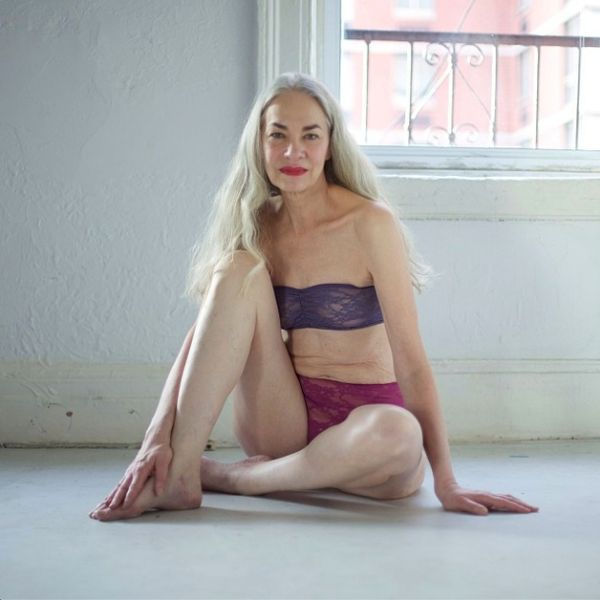 62-letnia Jackie O'Shaughnessy reklamuje bieliznę (FOTO)