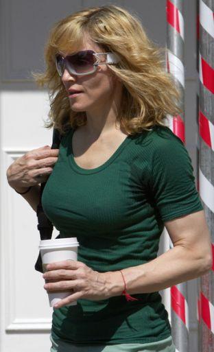 Madonna nadal trenuje (FOTO)