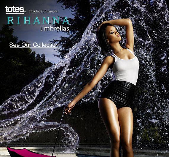 Kolejne parasolki Rihanny